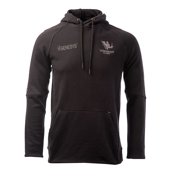 BLK Connacht 20 Kids PO Hoody Black