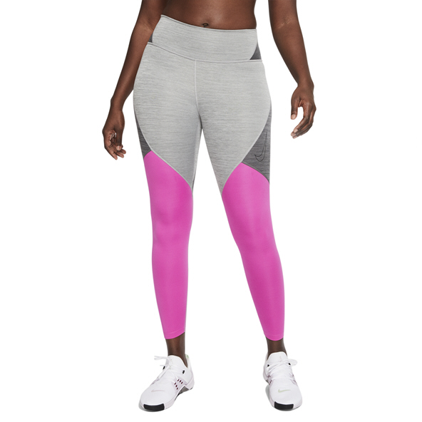 Nike ONE Women's Tight, Grey/Pink