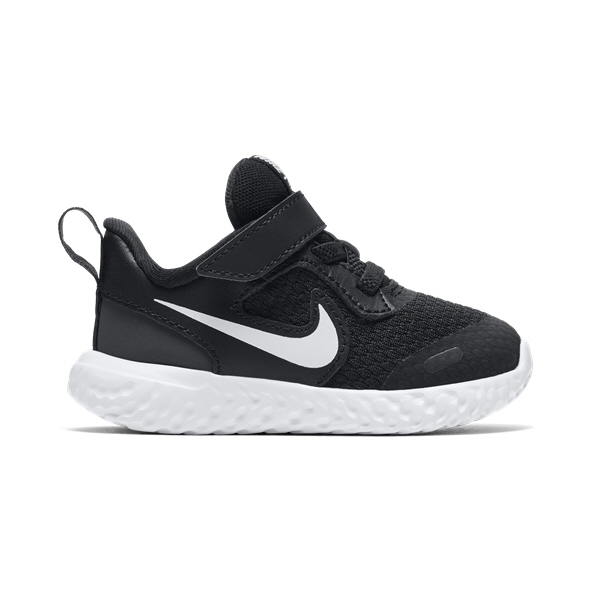 Nike Revolution 5 Infant Kids' Trainer, Black