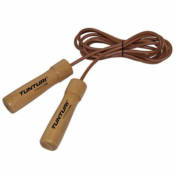Tunturi Jumprope Leather Pro