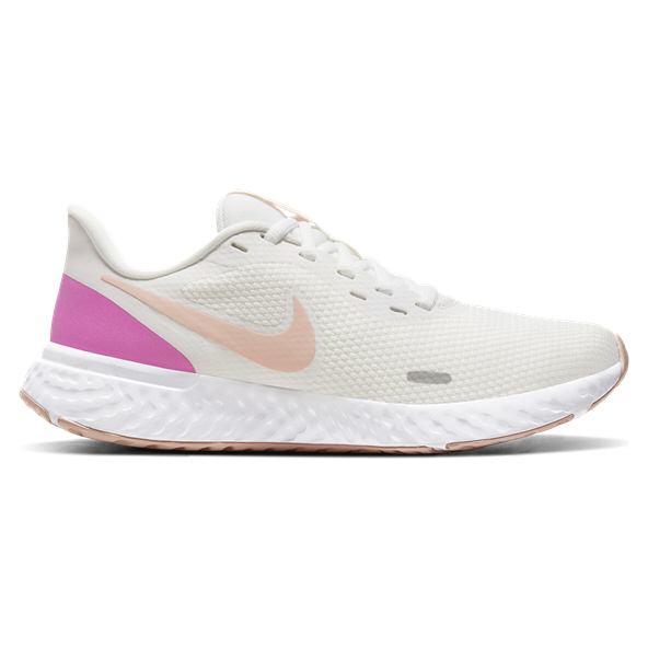 Nike Revolution 5 Womens Run White/Pink
