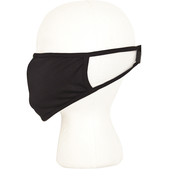 Intersport Elverys Resuable Face Mask, Black