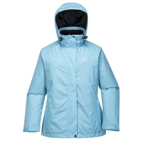 Portwest Clare Women's Rain Jacket, Blue