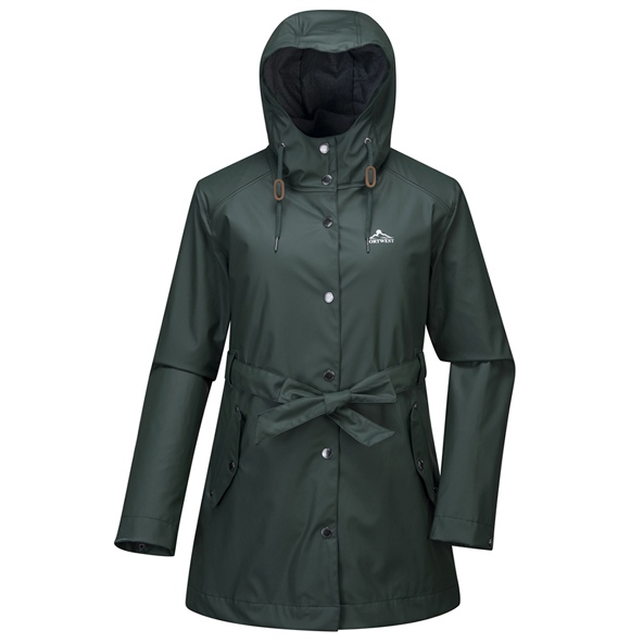 Portwest Killarney Women's Rain Jacket, Green