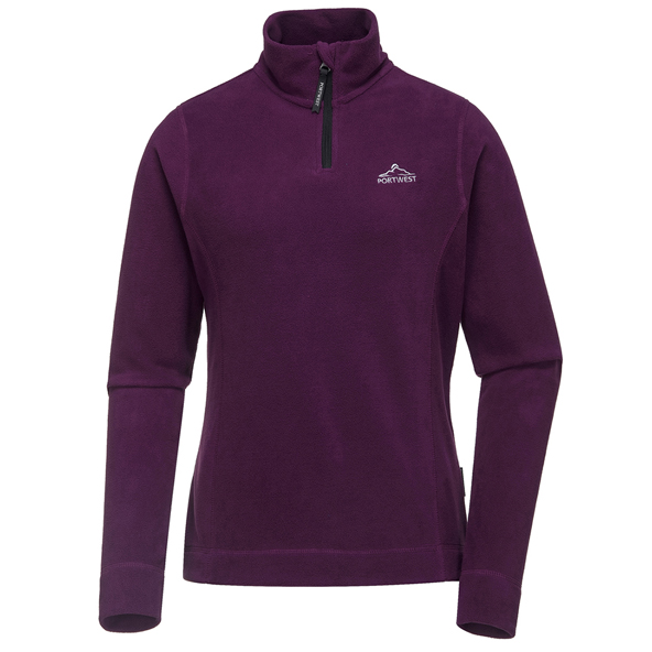 Portwest Tara Women's Micro Fleece, Purple