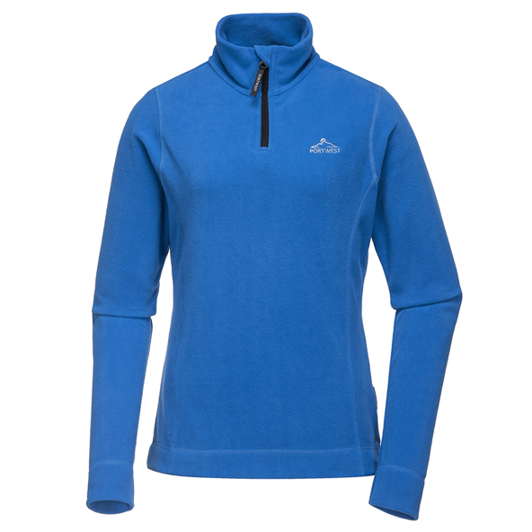 Portwest Tara Women's Micro Fleece, Blue