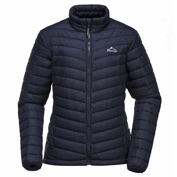 Portwest Bloom Women's Padded Jacket, Navy