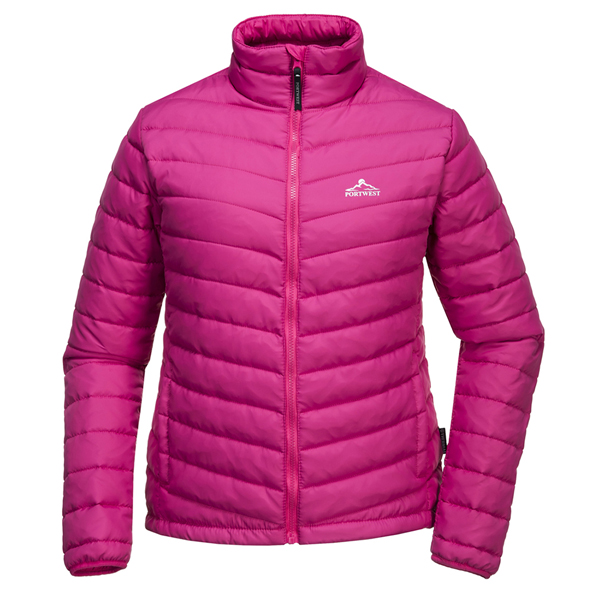 Portwest Bloom Women's Padded Jacket, Pink