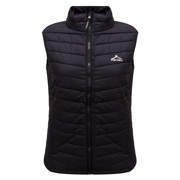 Portwest Mens Glen Padded Gillet Navy