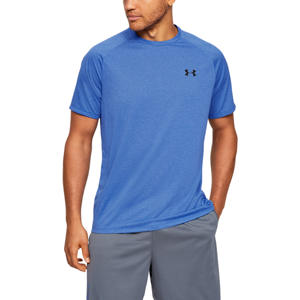 UA Tech 2.0 Mens Tee Blue