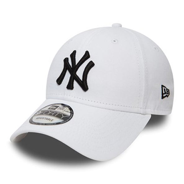 New Era NY Yankees 9Forty Cap, White