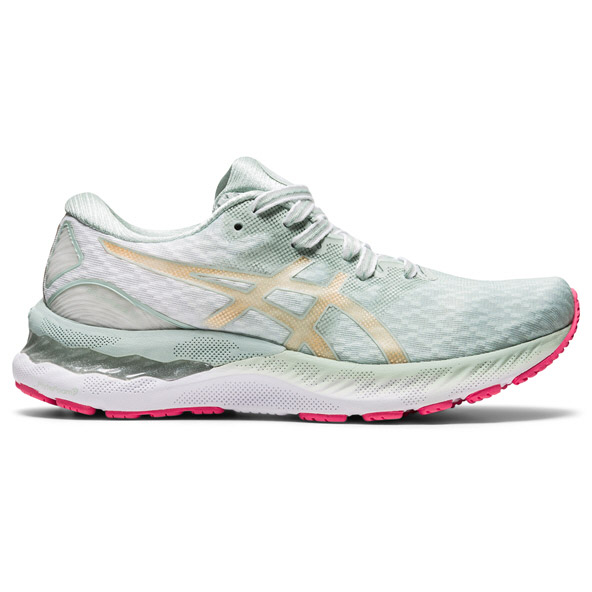 Asics Gel-Nimbus 23 Sakura Women's Running Shoe, Grey