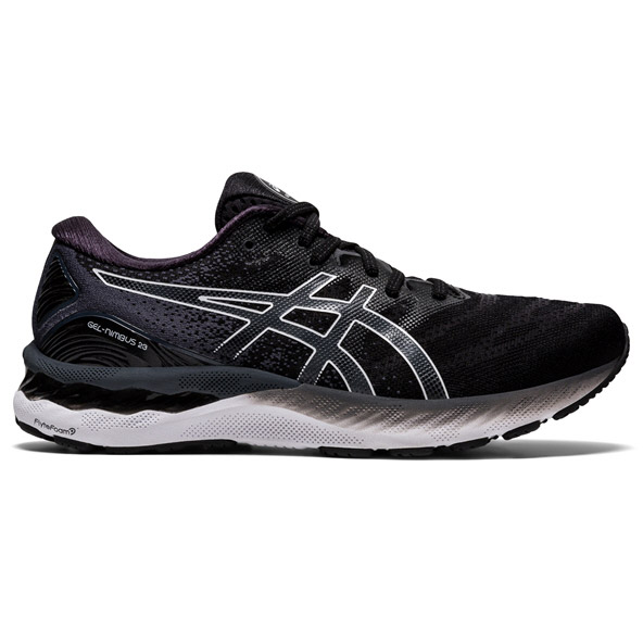 Asics Gel-Nimbus 23 Wide Men's Running Shoe Black / White