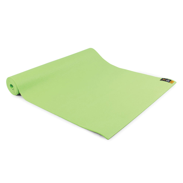 FM Warrior Yoga Mat 4mm Lime Green