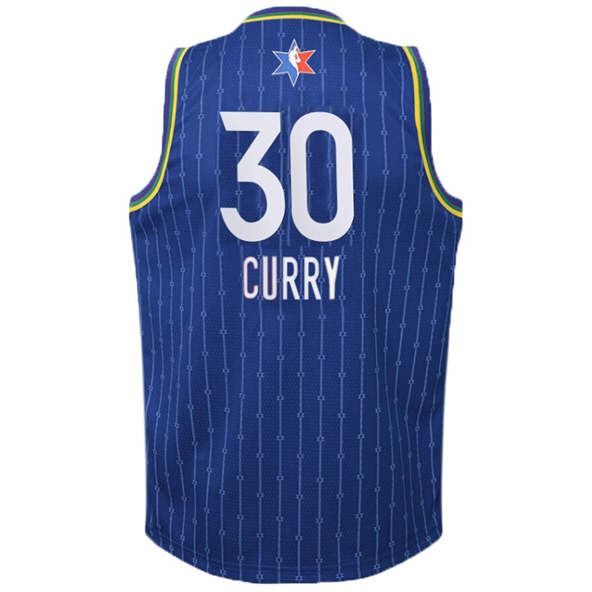 Nike NBA All-Star 2020 Kids' Jersey - Curry 30, Blue