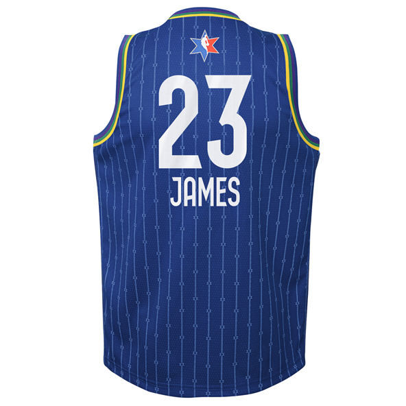 Nike NBA All-Star 2020 Kids' Jersey - James 23, Blue