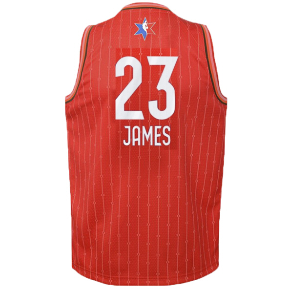 Nike NBA All-Star 2020 Kids' Jersey - James 23, Red