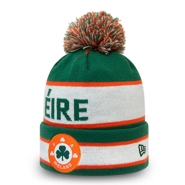 New Era FAI 88 Cuff Knit Bobble Green