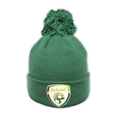 New Era FAI Ireland Kids' Cuff Knit Beanie Green