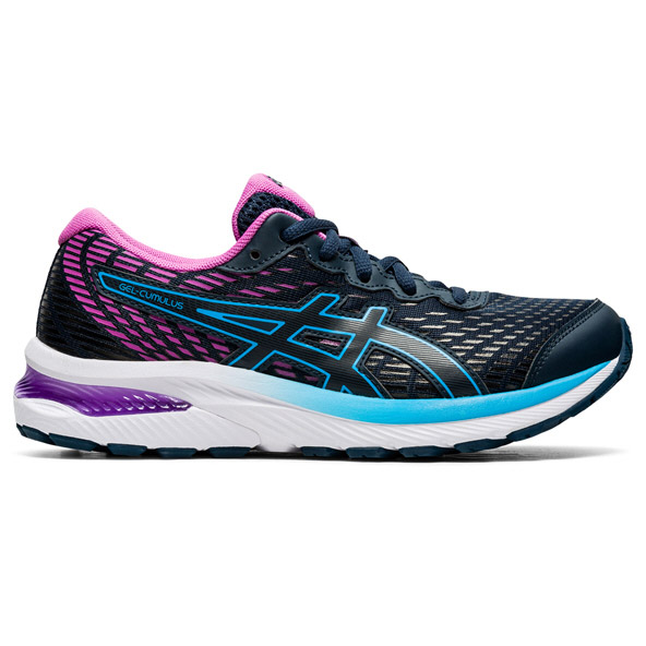 Asics Gel-Cumulus 22 Girls Running Navy