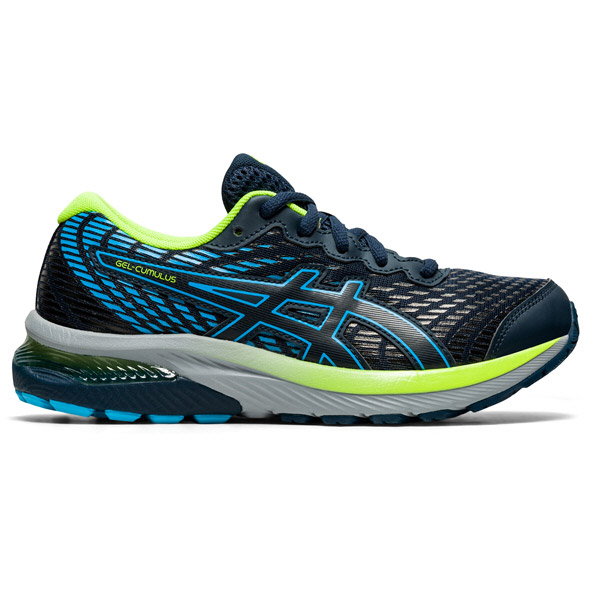 Asics Gel-Cumulus 22 Boys Running Navy