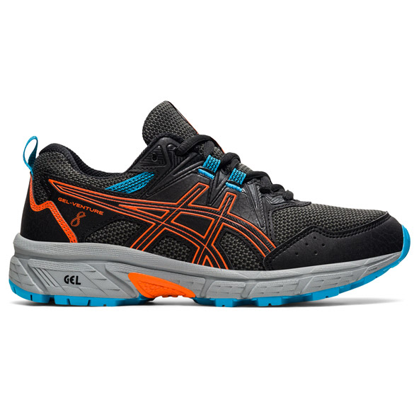 Asics Gel-Venture 8 Boys Running Black