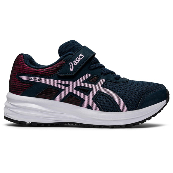 Asics Gel-Azumaya Junior Girls' Running Shoe, Navy