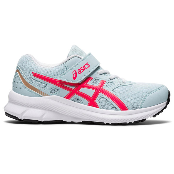 Asics JOLT 3 Junior Girls' Running Shoe Grey