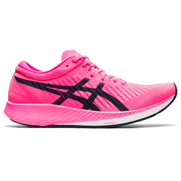 Asics Metaracer Women's Running Shoe Pink/Navy
