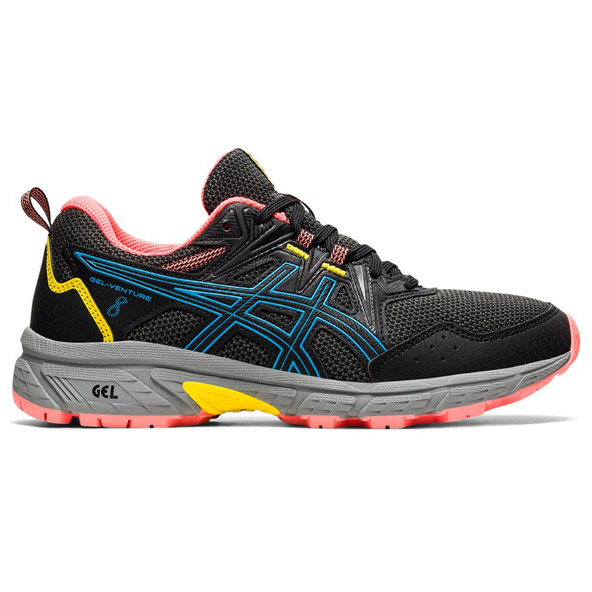 Asics Gel-Venture 8 Women's Trail Running Shoe Black
