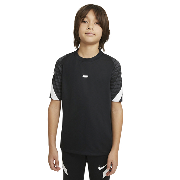 Nike Dri-FIT Strike 21 Kids' Short-Sleeve T-Shirt Black