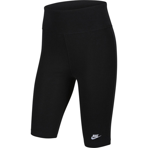 Nike Girls Swoosh Bike 9 IN Short Black