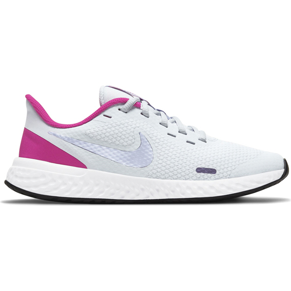 Nike Revolution 5 Junior Girls' Running Shoe Purple
