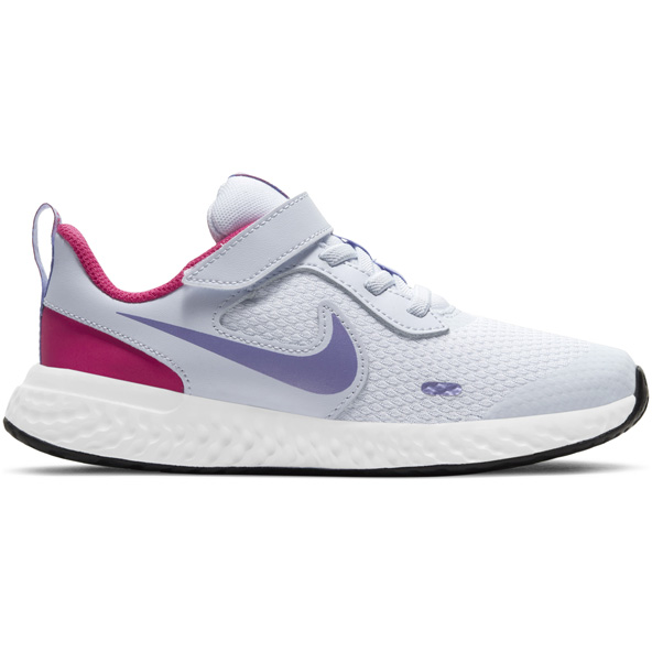 Nike Revolution 5 Junior Girls' Trainer Grey