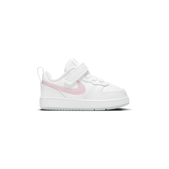 Nike Court Borough Low 2 Infant Girls' Trainer, White