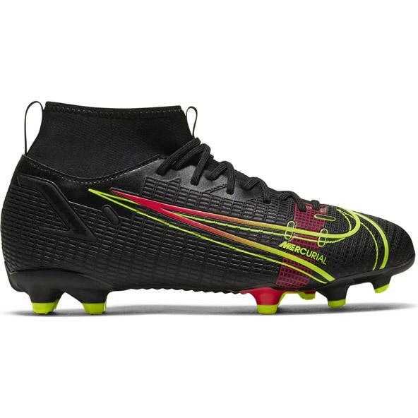 Nike Superfly 8 Academy Kids FG Black