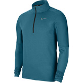 Nike Mens DF Element Half Zip Blue
