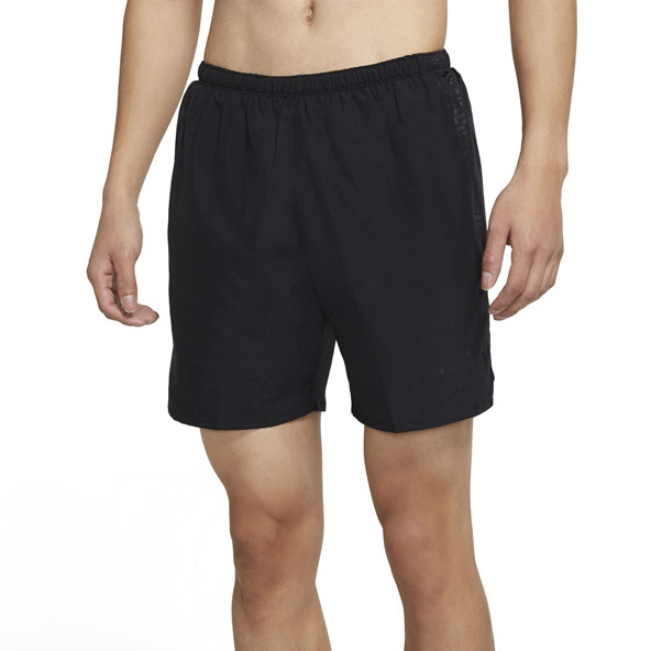 "Nike Men's Run Division Challenger 7"" Short, Black"