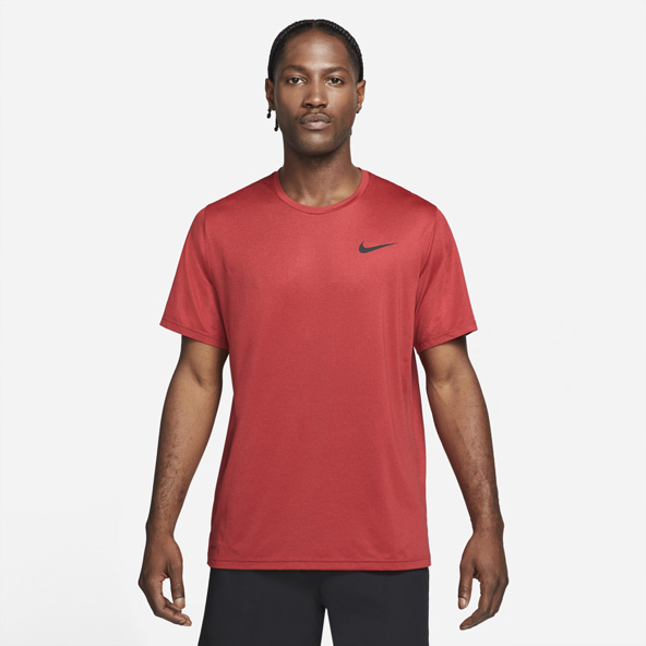 Nike Mens HyperDry Tee Red