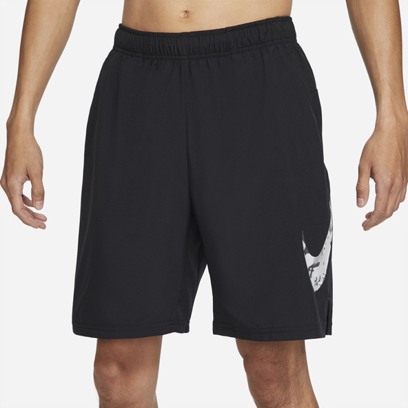 Nike Mens Flex Camo Short Black