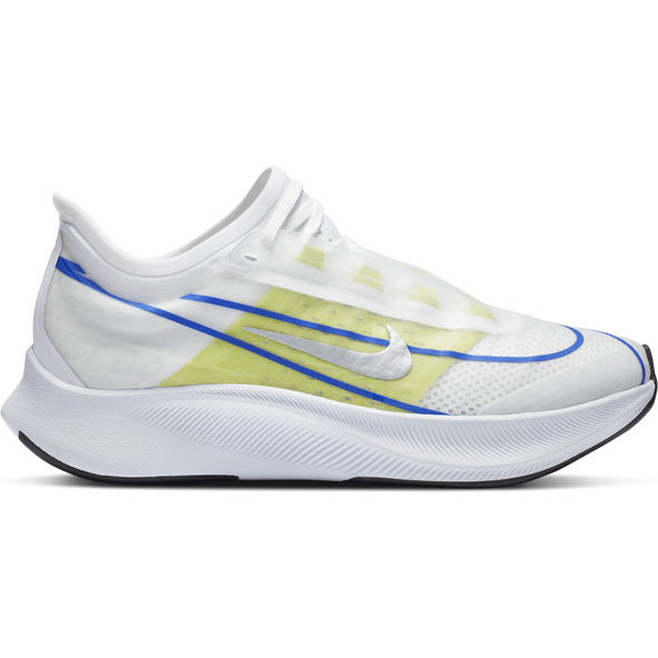 Nike Zoom Fly 3 Women's Running Shoe White/Silver