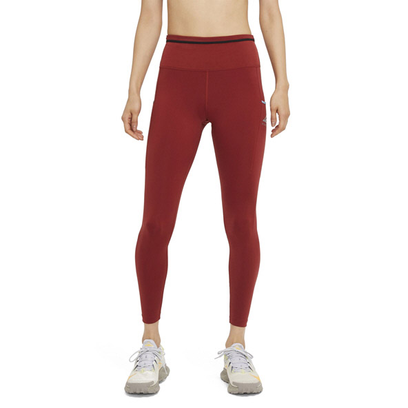 Nike Women's Epic Luxe Trail Tight Red