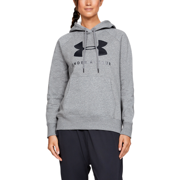 Under Armour® Rival Fleece Women's Hoody Grey