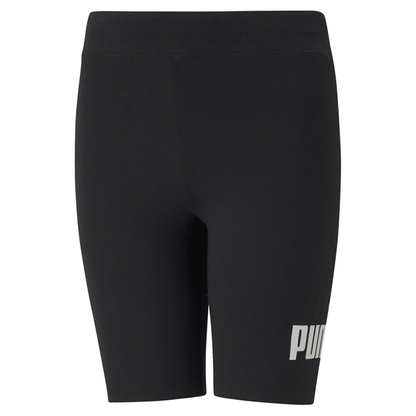 Puma Girls ESS Logo Short Tight Black