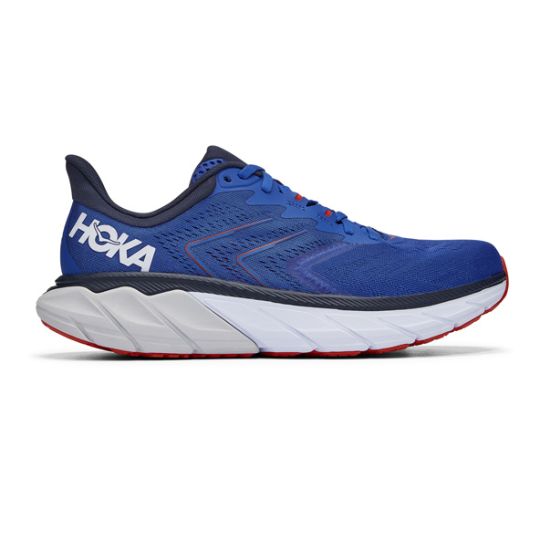 Hoka Arahi 5 Mens Run Blue/White
