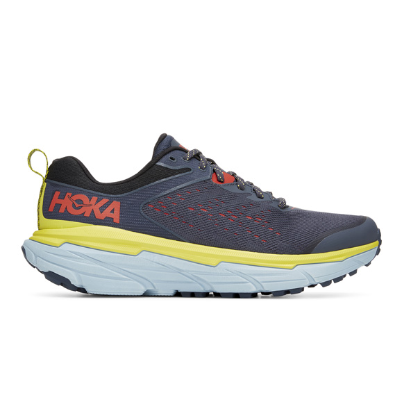Hoka Challenger ATR 6 Men's Running Shoe Blue/Yellow