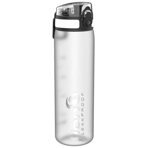 Ion8 Slim 500ml Water Bottle – White