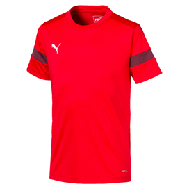 Puma ftblPLAY Boys' T-Shirt, Red