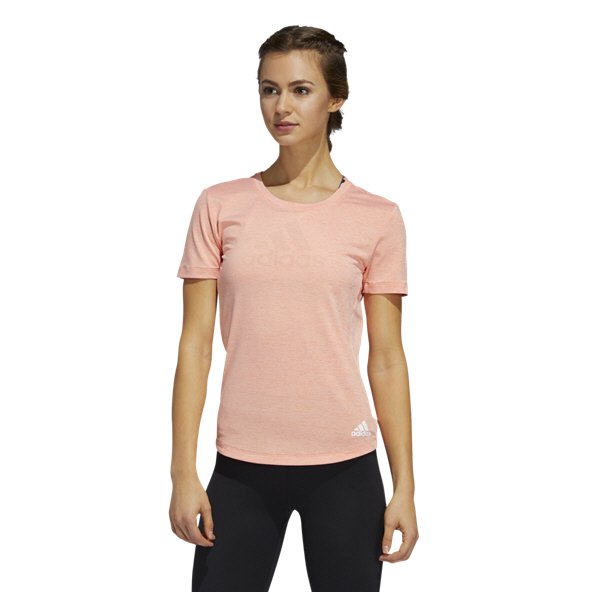 adidas Perf AMTIME Wmns Tee Pink