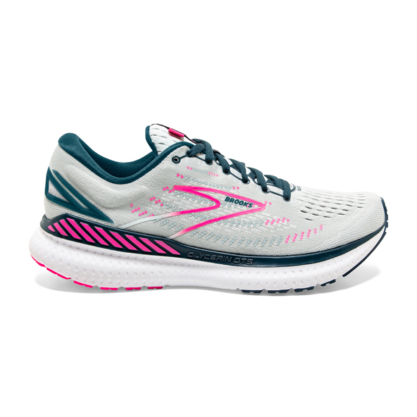 Brooks Glycerin 19 GTS Women Run Wht/Pnk